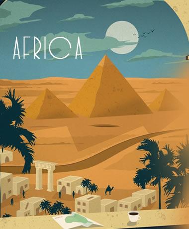 Destinos en AFRICA